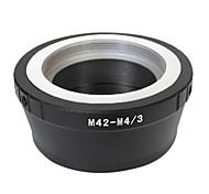 EMOLUX Pro lente M42 para Micro 4/3 adaptador de E-P3 E-PL2 E-P2 E-PL1 E-P1 G1 G2 G3 GF3 GF2 GH2