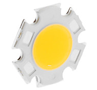 DIY 7W 620-700LM 300mA 2800-3000K Warm White Light Módulo LED integrado (20-23V)