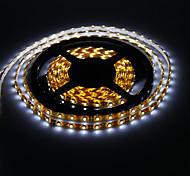 Los 5M 18W 300x3528SMD 6000-6500K Enfriar la luz blanca tira del LED (12V DC)