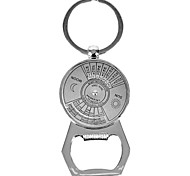 Personalized Engraved Gift Creative 2-in-1 Bottle Opener Perpetual Calendar Style Keychain