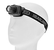 Headlamps LED 3 Mode 180lm Lumens Adjustable Focus / Waterproof / Super Light / Compact Size / Small Size AAAEveryday Use / Traveling /
