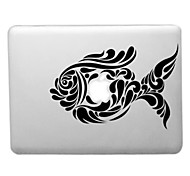 Artistic Work of Fish Pattern Transparent PC Hard Case for MacBook Air (Assorted Colors)