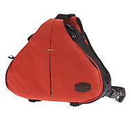 Caseman C10-03 Red Professional Triangle Crossbody One-Shoulder Bag for SLR Camera