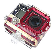 Full GoPro Aluminum Lanyard Ring Mount Ver. 2 (Red)