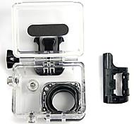 Agua deporte al aire libre caja de la cámara a prueba de agua para GoPro Hero 3/3 + - + Negro Transparente