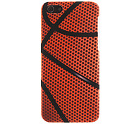 Basketball Surface Pattern Smooth Hard Case for iPhone 5C
