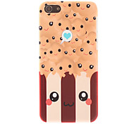 Cartoon-Stil Smiling Face-Muster Glatte Hard Case für iPhone 5C