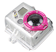 GoPro Aluminum LANYARD RING Mount For Hero2 (Pink)