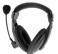 Stereo High Quality On-Ear Headphones With MIC For Computer