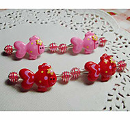 Children's Strawberry Hair Clip(4/set)