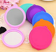 Silicone Case Small Makeup Mirror