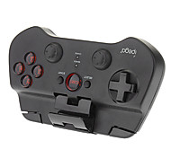Jogo sem fio Bluetooth Pad Controlador Joystick para Android iOS Ipad iPhone iPod (preto)