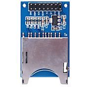 Brand New SD Card Module Slot Socket Reader for (For Arduino) ARM MCU - Blue + Silvery