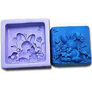 Rabbit Silicone Handmade Soap/Cake/Chocolate Mold
