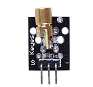 (Voor Arduino) 5v 650nm pcb laser diode module - zwart