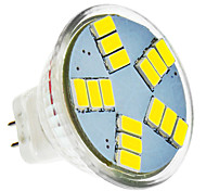 5W Focos LED MR11 15 SMD 5630 420 lm Blanco Fresco DC 12 V
