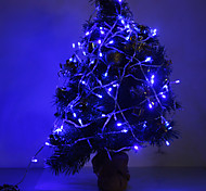 10M 6W 100-420LM LED Light Blue LED Light Strip per Decorazioni di Natale con 8 modalità di visualizzazione (220V)