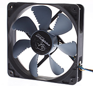 AK-FN072 12 centímetros Air Ripper Lâmina PWM Suave Super silenciosa Fan Speed ​​Control Auto para PC