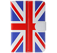 English Flag Pattern General Case with Pen and Screen Protector for 7' Google/Asus/Amazon Tablet