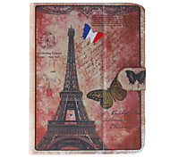 Eiffel Tower Pattern General Case with Pen and Screen Protector for 8' Google/Asus/Amazon Tablet