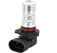 9005 4W 650lm 4-CREE XP-E White Light LED Car Foglight (12~24V)