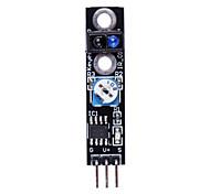 Negro Línea Blanca Sensor / Caza en vehículo inteligente Tracing