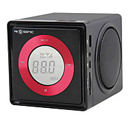 SENIC SN-330 Portable Fashionable Mini Speaker with LCD Screen and TF Card Slot, FM