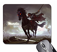 Personalized Gift Cavalier Pattern Gaming Optical Rectangle Mouse Pad (20.5x18cm)