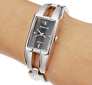 Women's Rectangle Dial Quartz Analog Bracelet Watch
