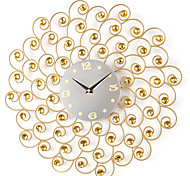 """17""""H Pastoral Style With Drill  Wall Clock"""