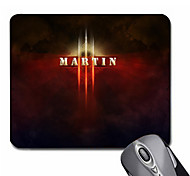Personalized Gift Light Style Gaming Optical Rectangle Mouse Pad (20.5x18cm)
