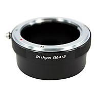 EMOLUX  Nikon AI lens to Micro 4/3 Adapter  E-P1 E-P2 E-P3 G1 GF1 GH1 G2 GF2 GH2 G3 GF3