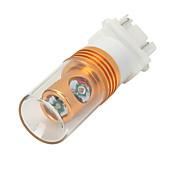 Highlight 3157 12W 600lm 635~700nm 4-Cree-XP-E LED Red Light Car Brake Light - (DC 12V)