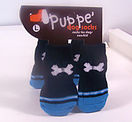 Cotton Sock Pet Socks Anti-Slip for Pets Dogs and Cats