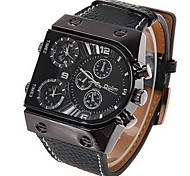 Men's Watch Military Dual Time Zones Multi Function