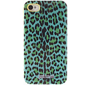 Stylish Green Leopard Print Pattern Smooth Anti-shock Case for iPhone 4/4S