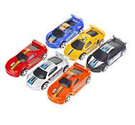 6PCS SPEED Colourful Simulazione di fondo Toy Car