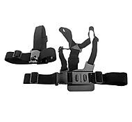 Gopro Accessories Mount / Monopod For Gopro Hero 2 / Gopro Hero 3 Nylon / Plastic Black
