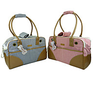 Fashionable Nylon Outdoor Handbag for Pets Dogs (Assorted Colors)