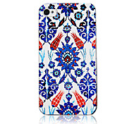 Original Special Design Flower Pattern Transparent Frame Back Case for iPhone 4/4S