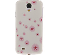 Pink Dandelion Pattern Plastic Protective Hard Back Case Cover for Samsung Galaxy S4 I9500