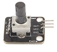 Eletrônico Blocos Rotary potenciômetro analógico Rotary Encoder Knob Módulo Módulo