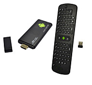 Ourspop 4.2.2 M9B doble núcleo Android Google TV Player RC11 Air Mouse (8GB ROM 1GB RAM)