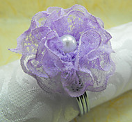 Pink / Purple Acrylic Napkin Ring