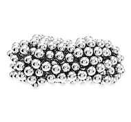 36pcs 4mm*23mm Nickel Magnetic Bars Rods + 27pcs D8 8mm Steel Balls