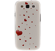 Flying Hearts Pattern Plastic Protective Hard Back Case Cover for Samsung Galaxy S3 I9300