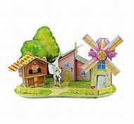 3D Puzzle  Mini Windmill House Toy  for Kids
