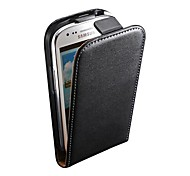 Genuine Leather Flip Case for Samsung S3 Mini I8190
