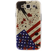 Defend the USA Pattern Plastic Protective Hard Back Case Cover for Samsung Galaxy S3 I9300