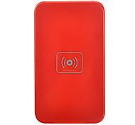 Cargador inalámbrico Qi para Nexus 4 Lumia 920 HTC 8x ADN Samsung i9300 Nota 2 S3 S4 - Rojo